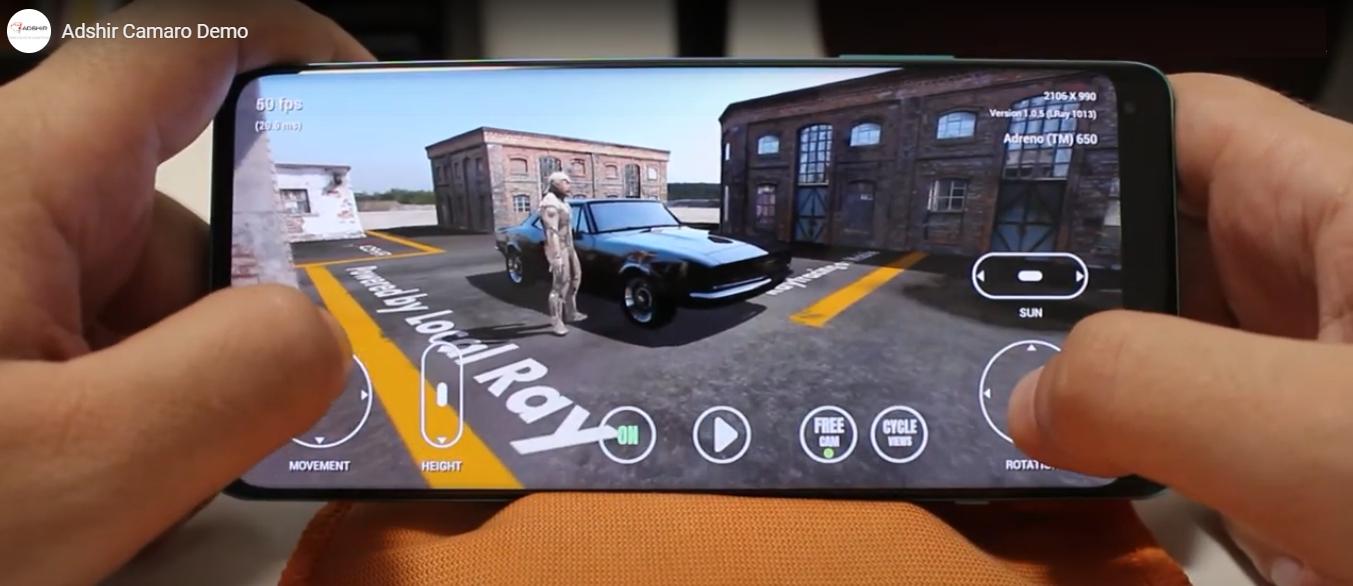 Adshir: Ray Tracing With LocalRay For The Mobile Gaming Market